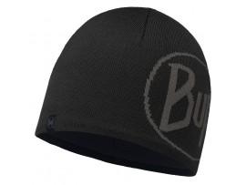 BUFF kapa Knitted & Polar LECH Black LOGO univerzalna, črna 113344