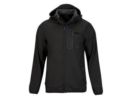 BERG softshell jakna Jukon Moška črna