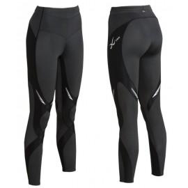 CW-X Kompresijske hlače StabilyX - dolge črne ŽENSKE