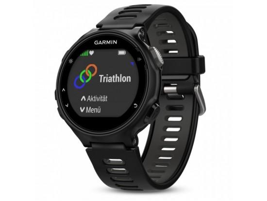 GARMIN Forerunner 735XT črno-siva - tekaška ura z GPS in merilnikom srčnega utripa na zapestju