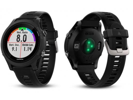 GARMIN Forerunner 935 črna triatlonska ura z GPS in merilnikom srčnega utripa na zapestju 010-01746-04