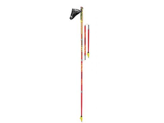 LEKI MICRO TRAIL PRO zložljive karbonske tekmovalno tekaške palice  RAZSTAVNI MODEL 125cm