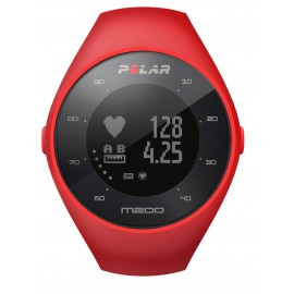 Polar M200 Tekaška ura z GPS-om srčni utrip na zapestju RDEČA