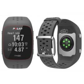 Polar M430 GPS HR SIVA z merilnikom srčnega utripa na zapestju