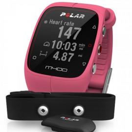 Polar M400 GPS HR ROZA