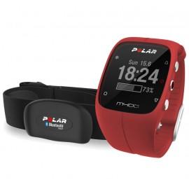 Polar M400 GPS HR RDEČA UNISEX