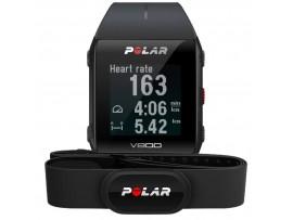Polar V800 GPS HR H10 črna Strava Live Segments podpora