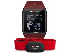 Polar V800 GPS HR H7 rdeča