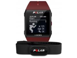 Polar V800 GPS HR H10 rdeča Strava Live Segments podpora