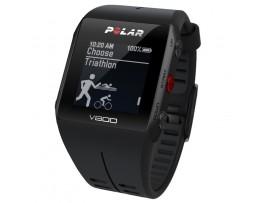 Polar V800 GPS črna 60 dnevna naročnina Strava PREMIUM - Live Segments podpora (brez pasu)
