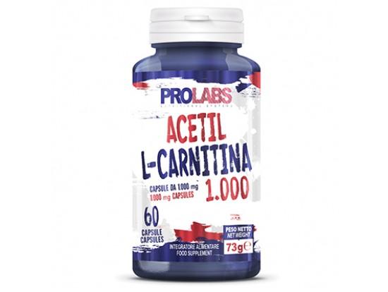 PROLABS Acetil L-Carnitin 60×1000mg za energija iz maščob