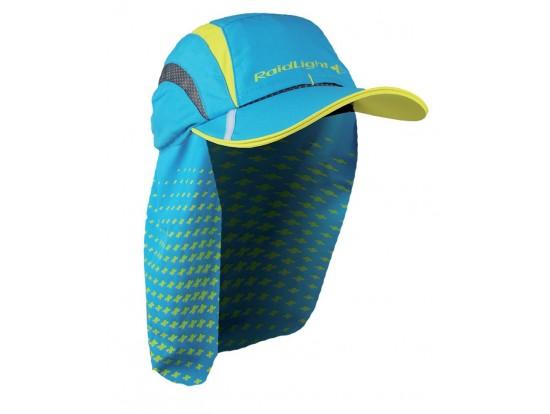Raidlight EVO  tekaška kapa z zaščito pred soncem RA054U modra