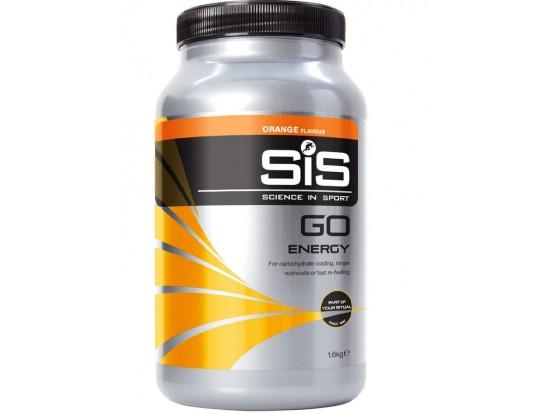 SiS GO Electrolyte 1600g POMARANČA - športni napitek med treningom ali tekmovanjem