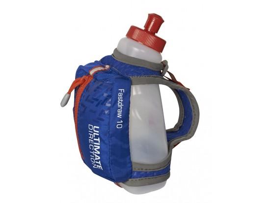 ULTIMATE DIRECTION - FASTDRAW 10 - MODRA - 295 ml PLASTENKA Z ROČNIM DRŽALOM ZA HIDRACIJO