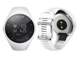 Polar M200 Tekaška ura z GPS-om srčni utrip na zapestju BELA