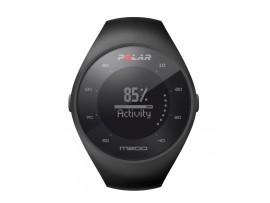 Polar M200 Tekaška ura z GPS-om srčni utrip na zapestju ČRNA