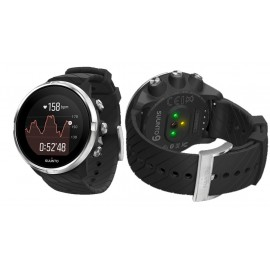 Suunto 9 Black Leather + Silicone SS050413000