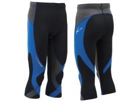 CW-X Kompresijske hlače StabilyX - 3/4 - MOŠKE modra črna