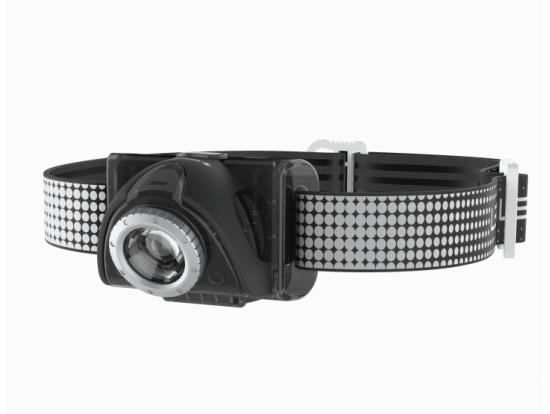 LED LENSER Naglavna svetilka SEO7R BLACK 220 LUMNOV najboljša izbira za tekače