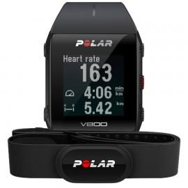 Polar V800 GPS HR H10 črna 60 dnevna naročnina Strava PREMIUM - Live Segments podpora