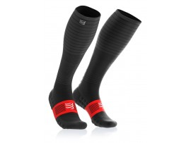 Compressport kompresijske nogavice RACE FULL SOCKS OXYGEN