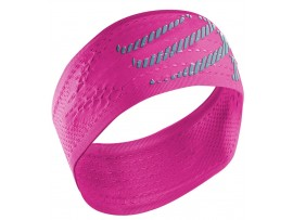 Compressport Naglavni trak Headband On/Off pink
