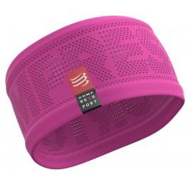 Compressport Naglavni trak Headband On/Off roza