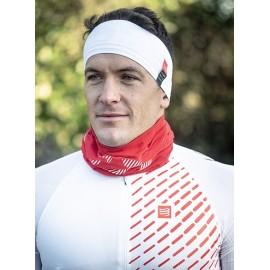 Compressport Naglavni trak Headband On/Off white