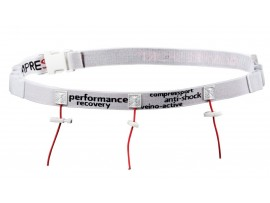 Compressport Tekaški trak Race Belt white