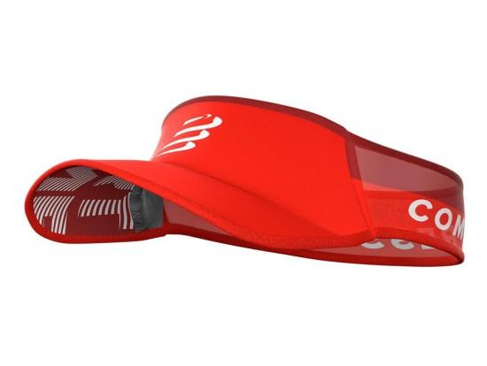 Compressport Ultralight Vizir za zaščito pred soncem RED