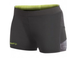 CRAFT ER HOT PANTS - Ženske kratke tekaške hlače 1900619 9900  -50% ODPRODAJA