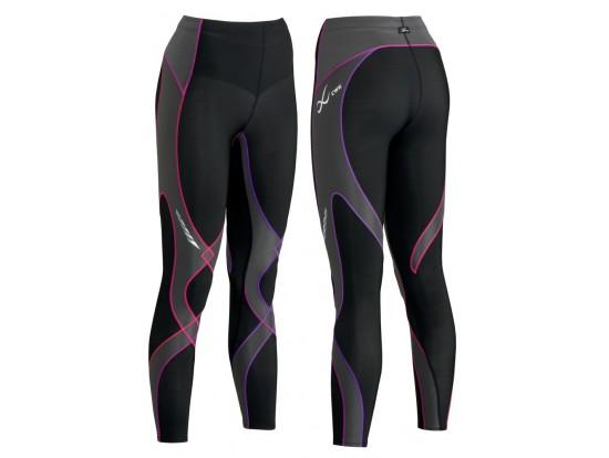 CW-X kompresijske hlače Insulator Stabilyx - dolge  ŽENSKE Black Purple Gradation
