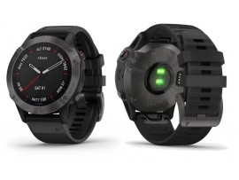 GARMIN fenix 6 Pro in Sapphire Carbon Gray DLC with Black Band KODA ARTIKLA 010-02158-11 ODPRODAJA -19%