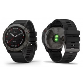GARMIN fenix 6X Pro in Sapphire - Carbon Gray DLC with Black Band KODA ARTIKLA 010-02157-11 TOP SELLER