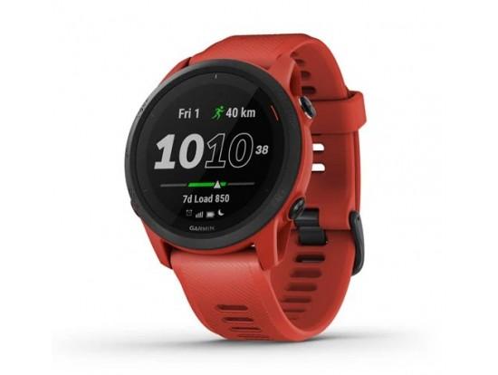 GARMIN Forerunner 745 Rdeč model, samo ura 010-02445-12 tekaška in triatlonska pametna ura