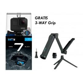 GoPro HERO7 Black Gratis 32GB + 3-way grip
