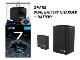 GoPro HERO7 Black Gratis 32GB + dvojni polnilec + baterija