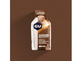 GU energijski gel CARAMEL MACCHIATO kofein 40mg, Na 60mg, aminokisline 450mg 5 kosov