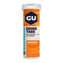 GU Hydro šumeče tablete pomaranča 12 tablet - rok uporabe najmanj do 06.2021 odprodaja