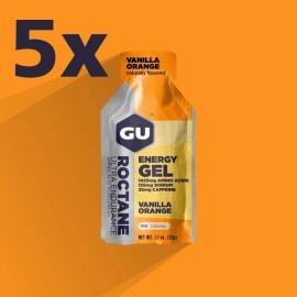 GU ROCTANE energijski gel za tekmovanja VANILLA ORANGE 5 kosov