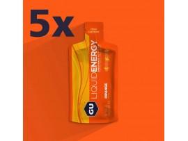 GU tekoči energijski gel ORANGE sol 190mg, aminokisline 450mg 5 kosov