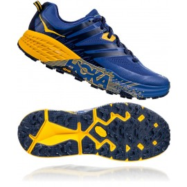 HOKA SPEEDGOAT 3 GBOG TRAIL Galaxy Blue/Old Gold + GRATIS UD FASTDRAW 20