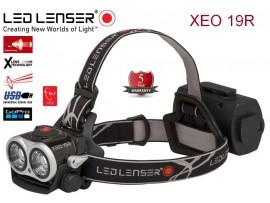 LED LENSER XEO 19R - rechargable, svetilnost 2000 lumnov