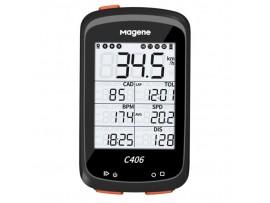 Magene C406 GPS kolesarski računalnik + podaljšan nosilec + silikonski ovoj