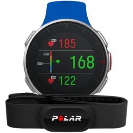 Polar VANTAGE V H10 modra z merilnikom srčnega utripa na zapestju in merilnikom moči teka