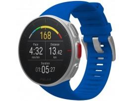 Polar VANTAGE V modra z merilnikom srčnega utripa na zapestju in merilnikom moči teka