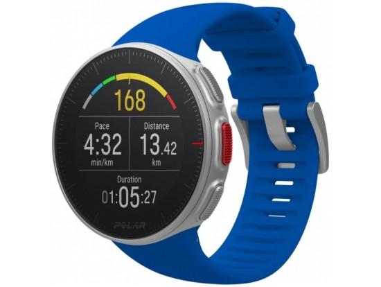 Polar VANTAGE V modra z merilnikom srčnega utripa na zapestju in merilnikom moči teka ODPRODAJA -24%