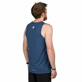 ULTIMATE DIRECTION - tekaška kratka majica CUMULUS modra